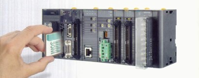 CJ1G / H - Модульний мініконтроллер до 2560 вх / виходів